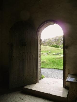 Thinplace door