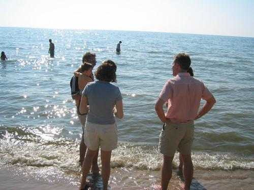 Talking_on_the_beach