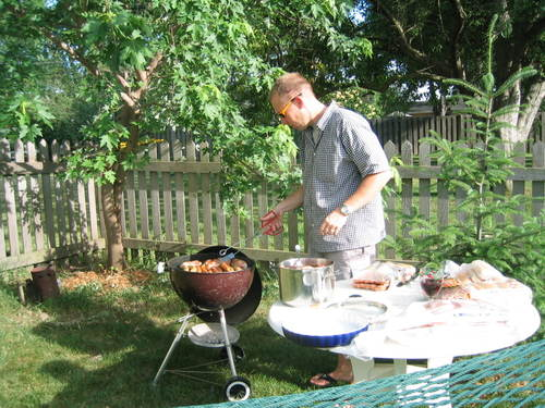theologian AND grill master